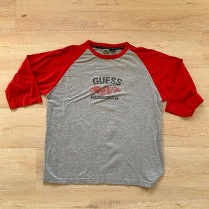 Vintage Guess Jeans Company Dragon Baseball Shirt